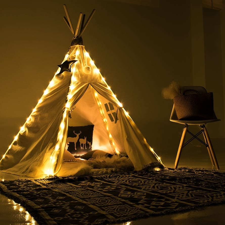 string led fairy lights for teepee tents battery operated waterproof led 7 gadgets. Black Bedroom Furniture Sets. Home Design Ideas