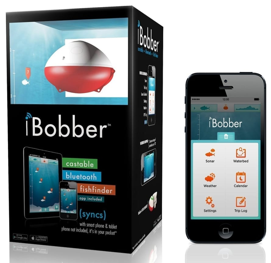 cad7edfcf00 iBobber Wireless Bluetooth Smart Fish Finder for iOS and Android ...