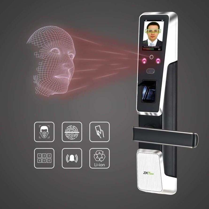 Electronic Door Lock Face Recognition Keyless Door Lock