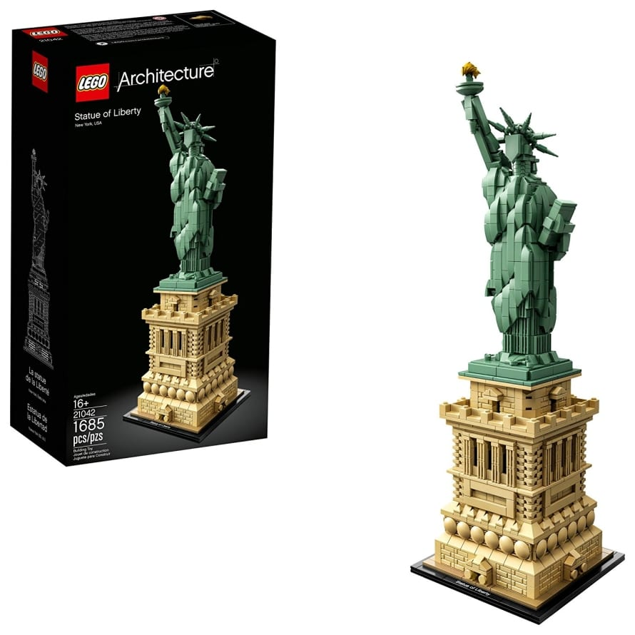 Lego Statue Of Liberty 21042 Building Kit 7 Gadgets