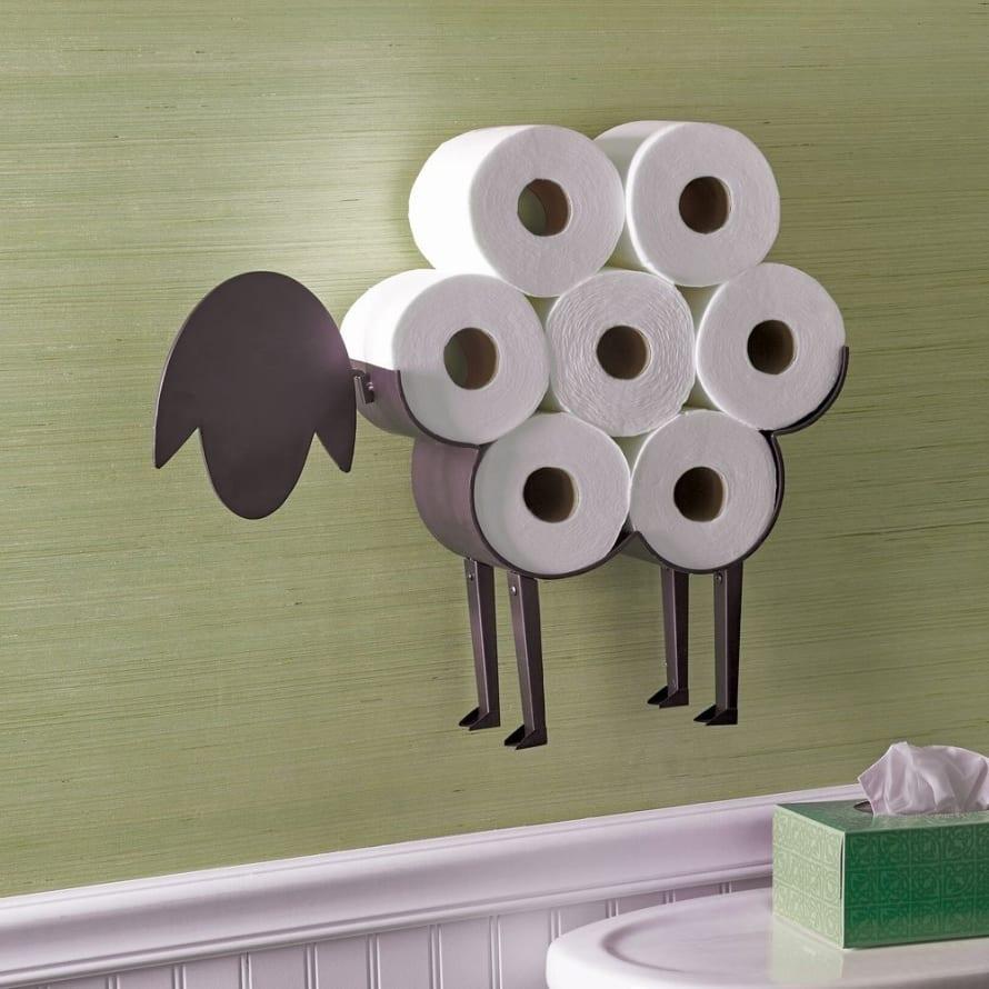 Sheep Toilet Paper Holder 7 Gadgets