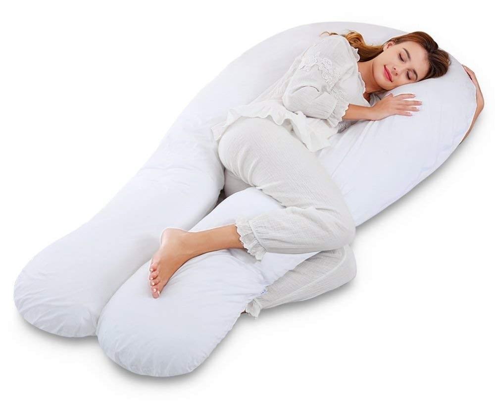 Marine Moon Full Body Pregnancy Pillow U Shaped Maternity
