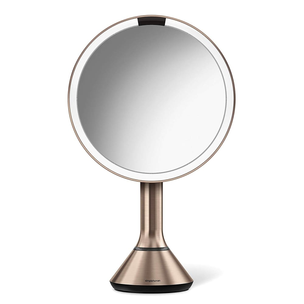 Sensor Lighted Makeup Vanity Mirror 8 Round With Touch