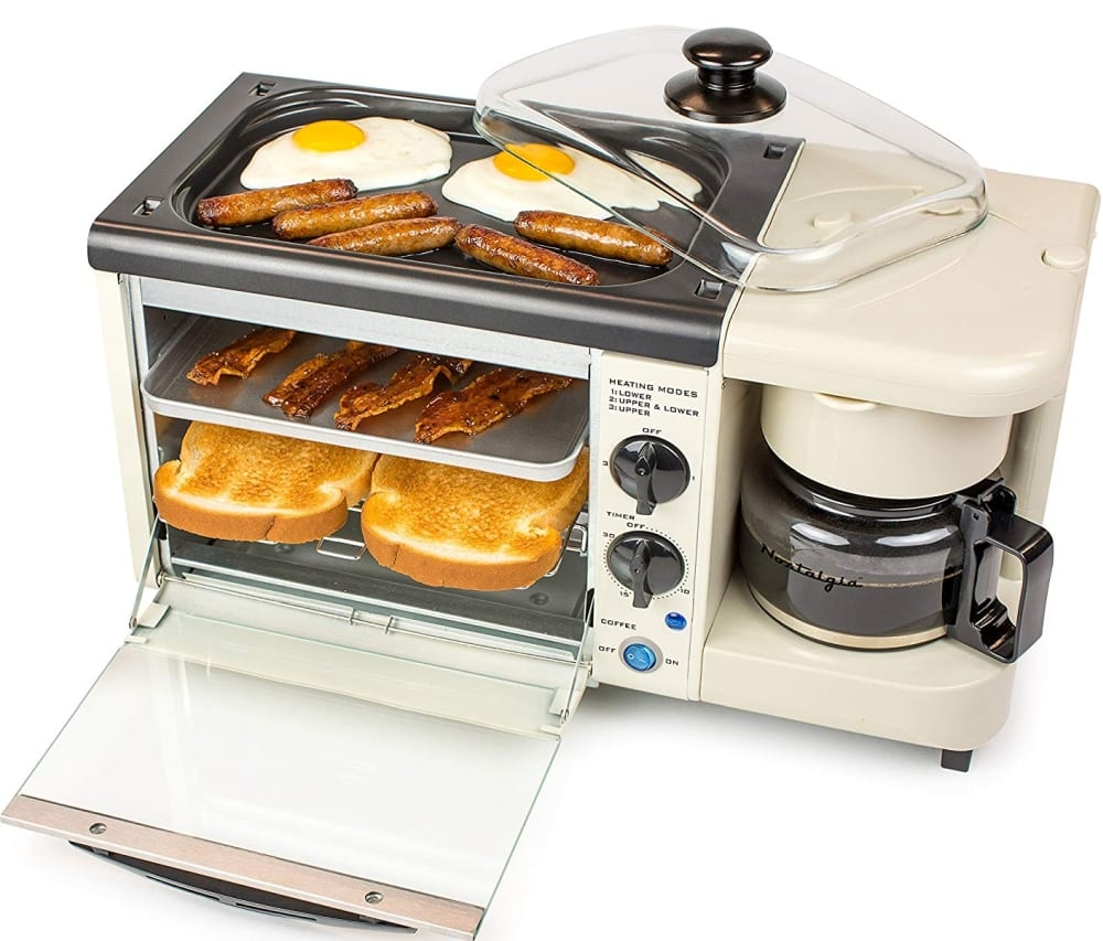 Nostalgia 3 In 1 Toaster Ovens 7 Gadgets
