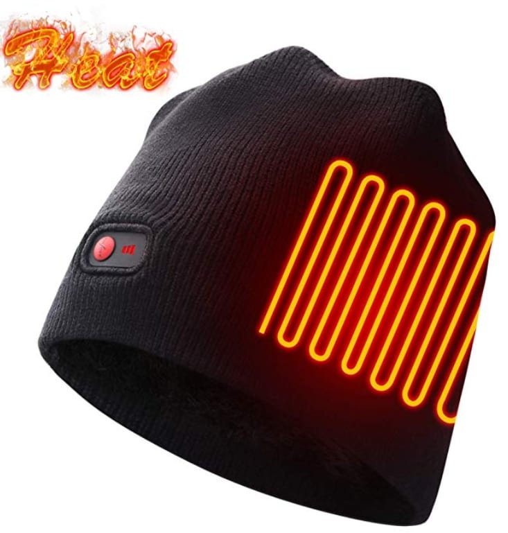 Rechargeable Electric Warm Heated Hat 7 Gadgets