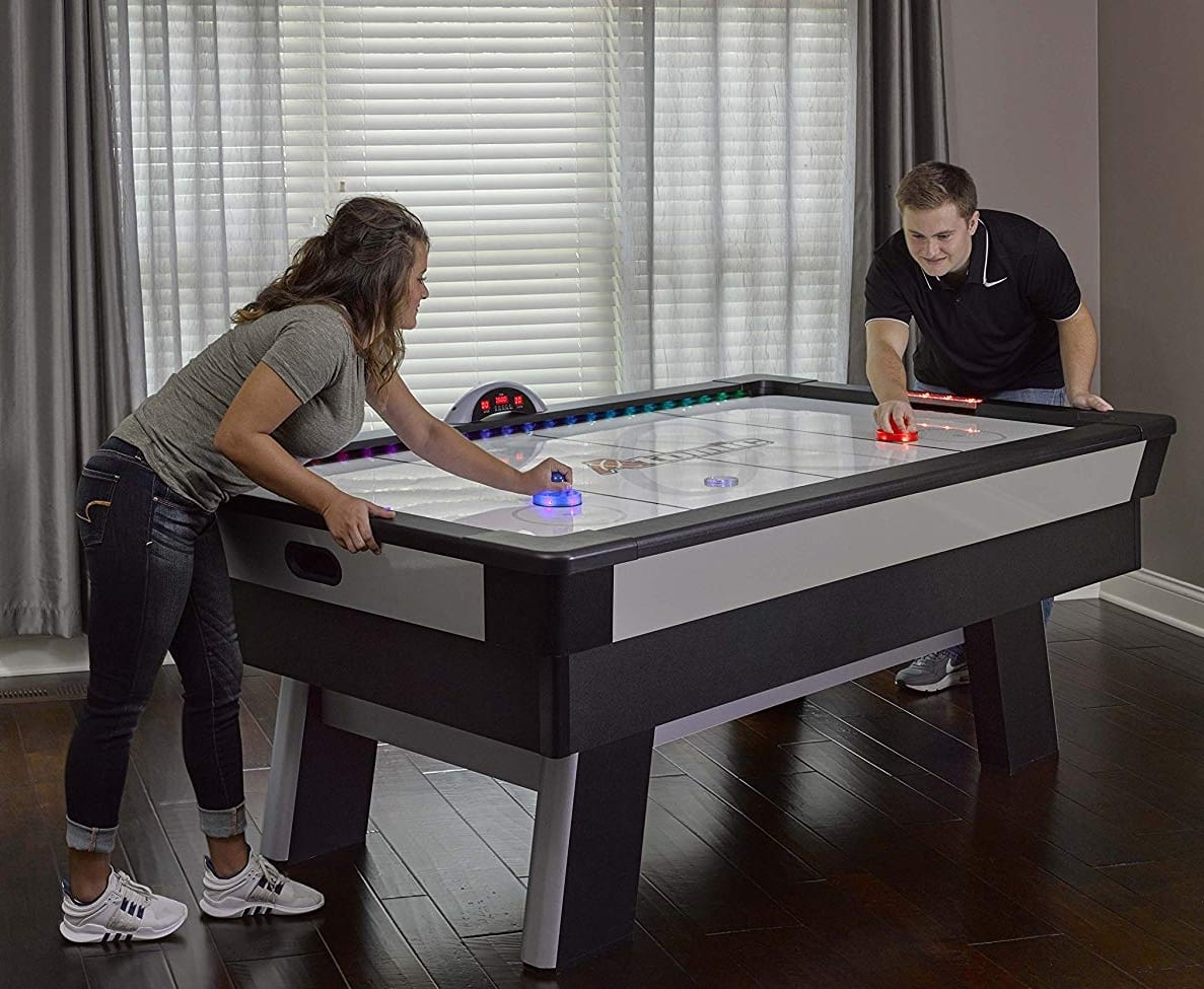 Atomic Top Shelf 7 5 Air Hockey Table With 120v Motor For