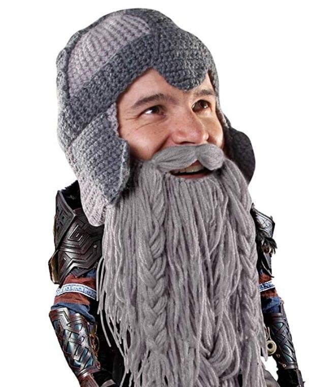 a0a43920943ed Beard Head Dwarf Warrior Beard Beanie – 7 Gadgets