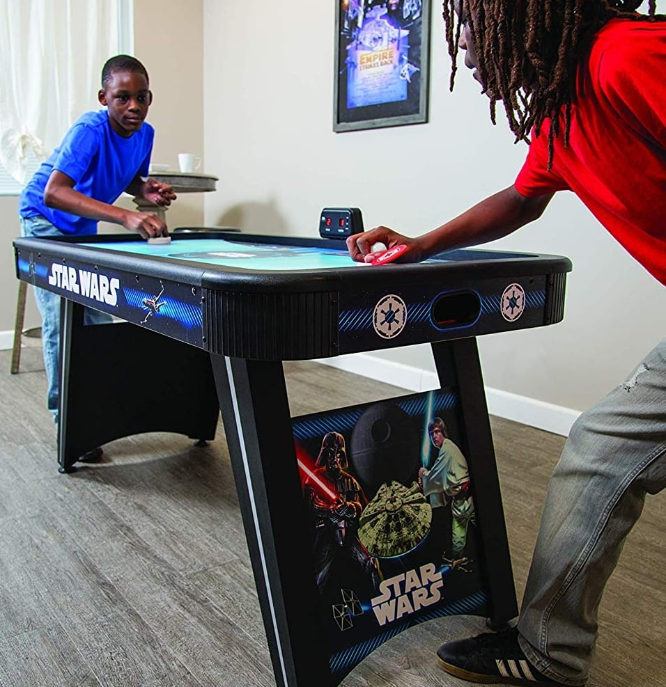 Hathaway Star Wars Galactic Face Off 5 Foot Air Hockey Table