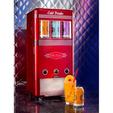 Retro Series 18-Can Vending Machine