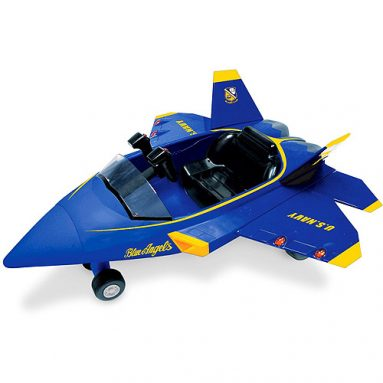 F/A-22 Raptor Blue Angel Battery-Operated Ride-On
