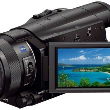 Sony 4K Video Camera with 3.5-Inch LCD