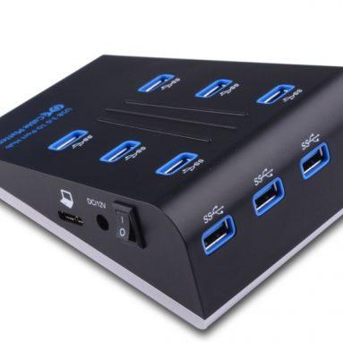 10-Port SuperSpeed USB 3.0 Hub