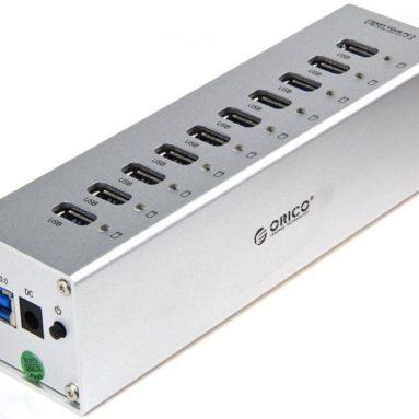 10 Ports USB3.0 HUB Super Speed Transfer Rate