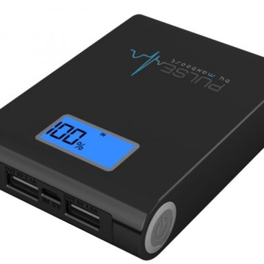 10000mAh External Portable Power Battery Pack Charger with Digital Display