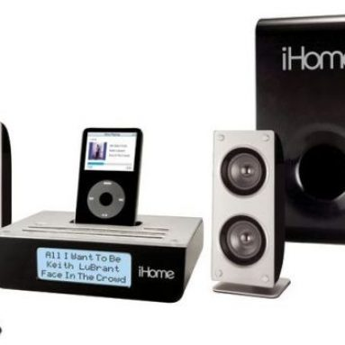 Home Stereo System with Sub for iPod