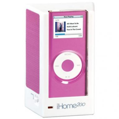 iHM1P2 Portable Speaker System for iPod nano