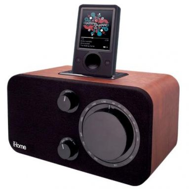 Table Radio for Zune