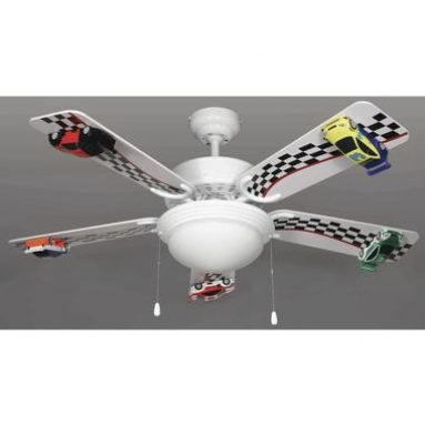 Race Car Ceiling Fans