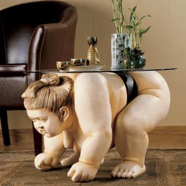 Basho The Sumo Wrestler Table