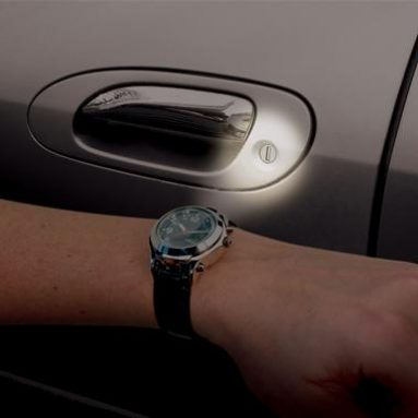 Lighted Magnifying Watch