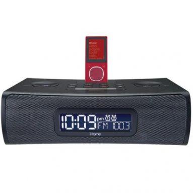 Clock Radio & Audio System for Zune