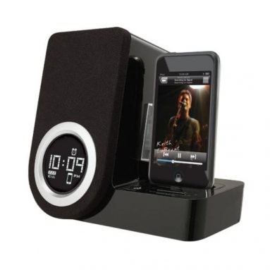 Rotating Alarm Clock for iPod Touch