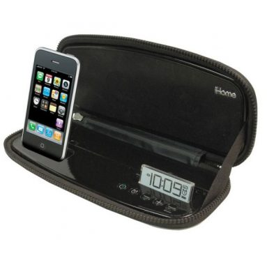 Portable Stereo Alarm Clock for iPhone/iPod