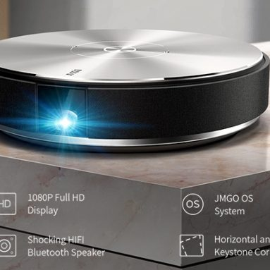 1080P 4K Projector with Android OS, 700 ANSI Smart Home Cinema Projector