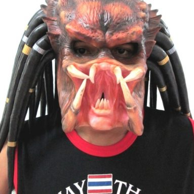 1:1 Predator Bust Replica Mask