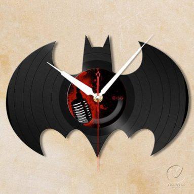 Batman Vinyl Wall Clock