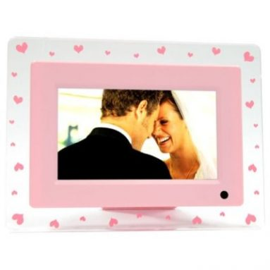 Digital Photo Frame with MP3/MP4