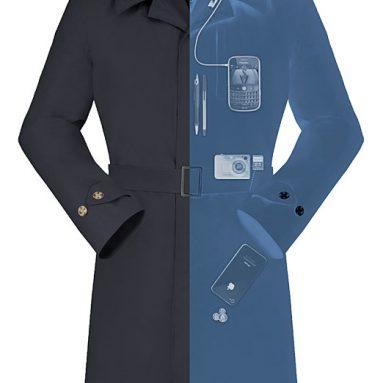 SeV Men's Trench Coat