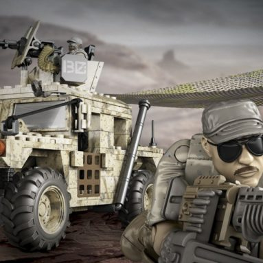 Mega Bloks Call of Duty Light Armor Firebase Collector Construction Set