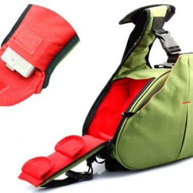 MegaGear DSLR Camera Case Bag Army Green for Canon