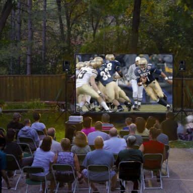 Silverscreen 12-Foot Outdoor Entertainment System
