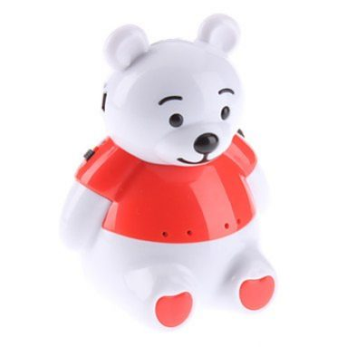 Rechargeable Bear USB Flash Drive & Tf Card Player Speaker