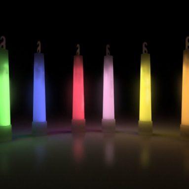 6 Inch Glow Sticks Pack
