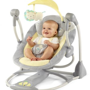 Bright Starts InGenuity Smart and Quiet Swing