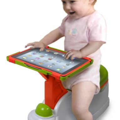 2-in-1 iPotty with Activity Seat for iPad