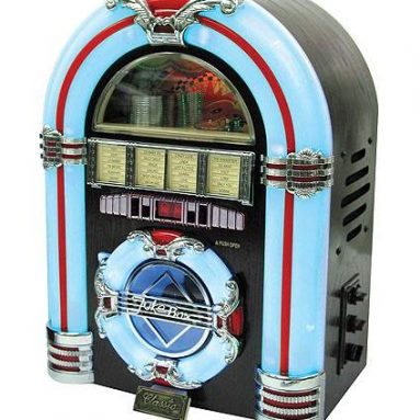 Retro Tabletop Jukebox/CD