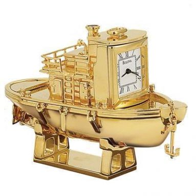 7 Bulova Luxury Miniature Clocks