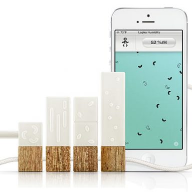 Lapka Personal Environment Monitor For iPhone