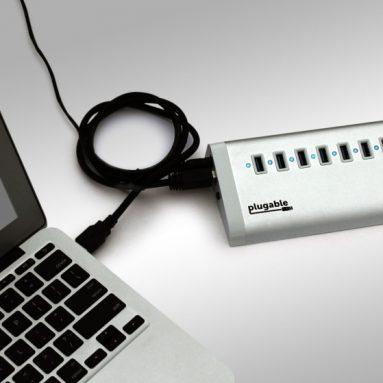 USB 3.0 SuperSpeed 7 Port Hub