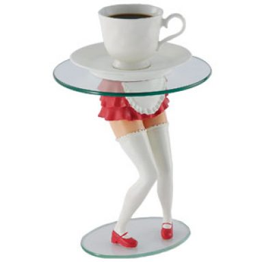Girls legs coffee tables