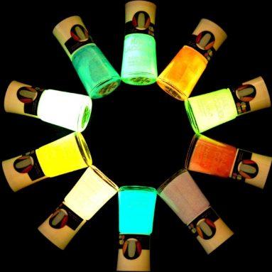 Glow in the Dark Neon Nail Polish Lacquer