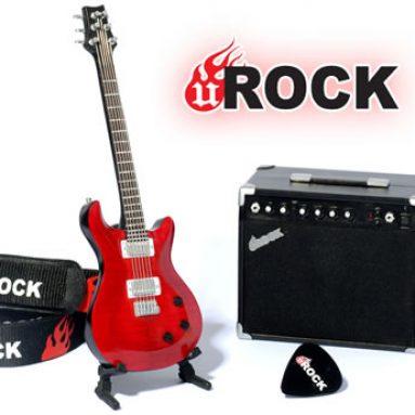 Mini Guitar MP3 Player