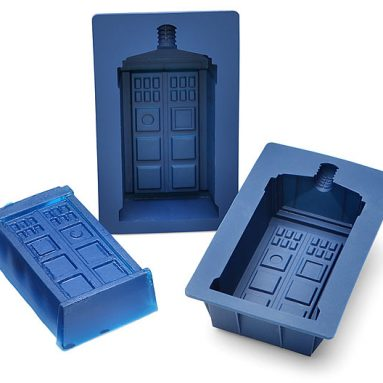 Doctor Who TARDIS Gelatin Mold Set