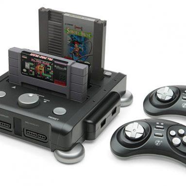 Retron 3 SNES/NES/Genesis Game System