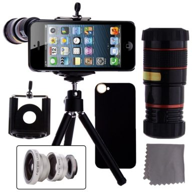 4 in 1 iPhone 5 Camera Lens Kit