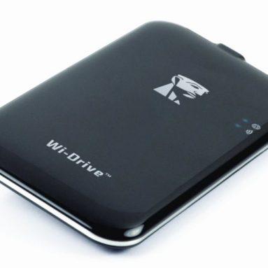 Kingston 64 GB Digital Wi-Drive with Mini-USB to USB Cable